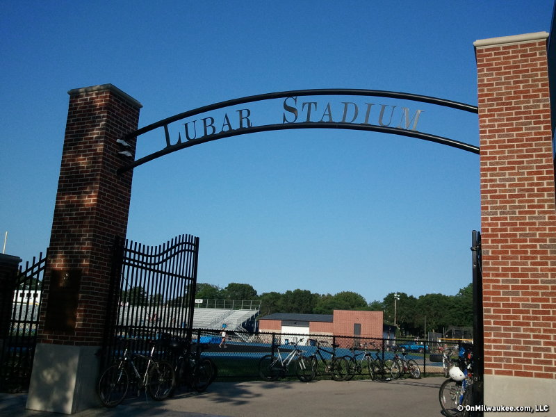 Lubar Stadium, home of the Whitefish Bay Blue Dukes