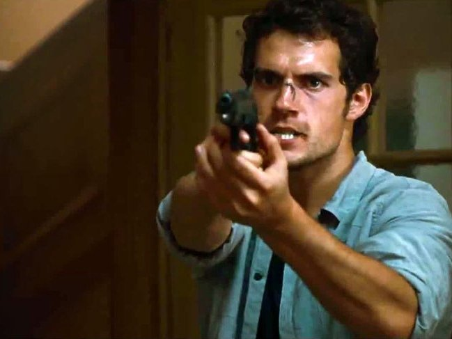 "Henry Cavill in ""The Cold Light of Day,"" in theaters now."