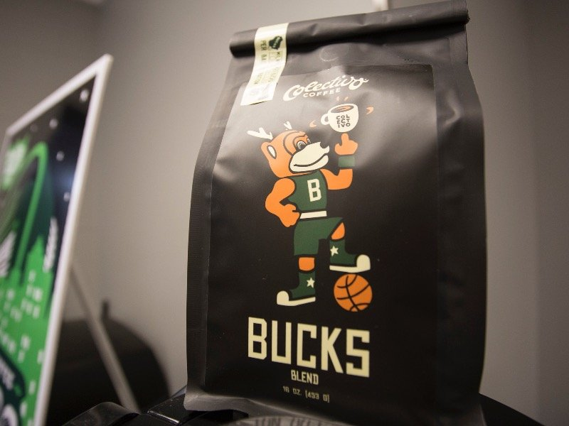 The Bucks and Colectivo team up for a new coffee brew