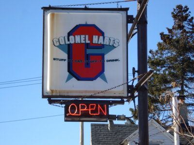 Colonel Hart's serves a history lesson with libations