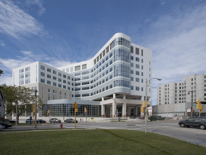 The new, $417 million Columbia-St. Mary's Hospital opens Oct. 12.