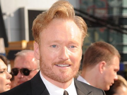 Conan O'Brien's new show debuts Nov. 8 on TBS.