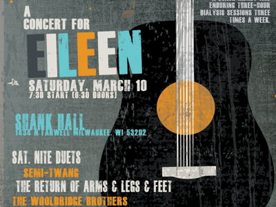 Concert for Eileen to raise funds and reunite bands