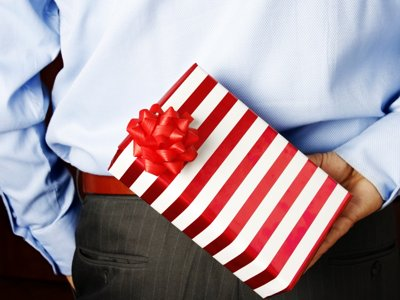 Local couples differ on gift-giving policies