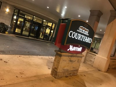 A college kid staycation at the Downtown Courtyard Marriott