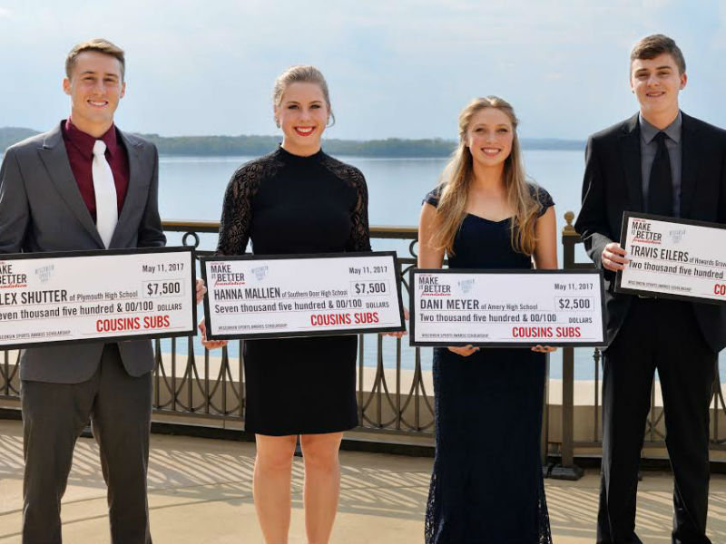 Cousins Subs awards $20,000 in scholarships to local student