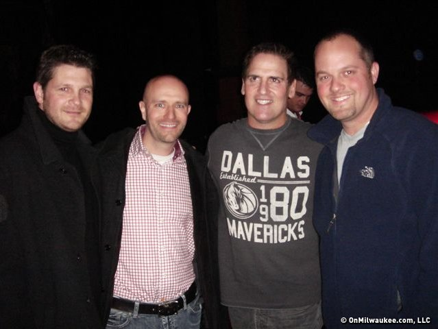 Andrew Ziebell, Jeff Sherman, Mark Cuban and Chris Haworth.