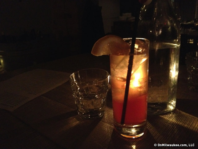 "The ""Loving Cup"" at AP Bar & Kitchen."