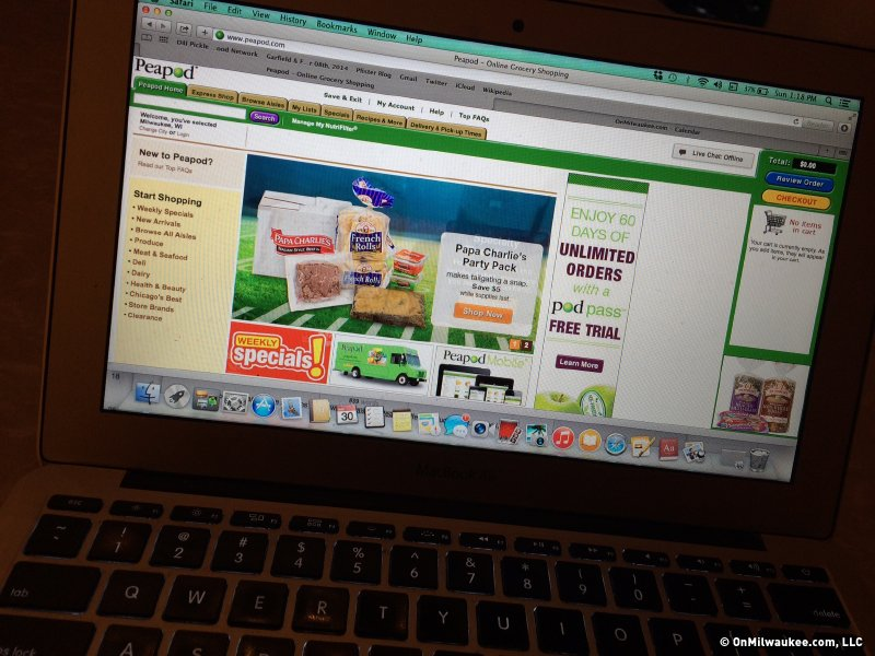 Peapod makes online grocery shopping a snap - OnMilwaukee