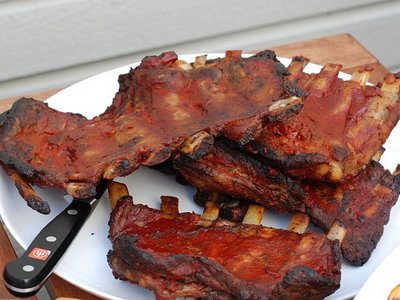 Daily dish: A perfect batch of barbecued ribs