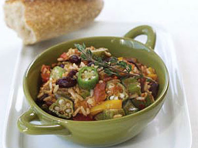 Daily dish: Quick vegetarian gumbo