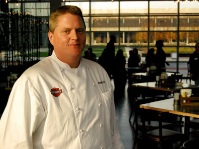 Featured chef: Dan McEvoy of H-D Museum's Motor