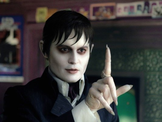 "Johnny Depp stars in Tim Burton's ""Dark Shadows,"" in theaters now."