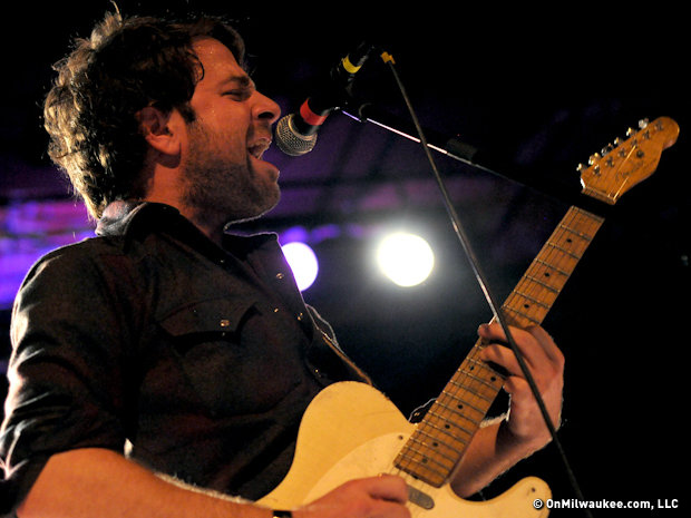 Dawes lead singer and guitarist Taylor Goldsmith is a unique performer.