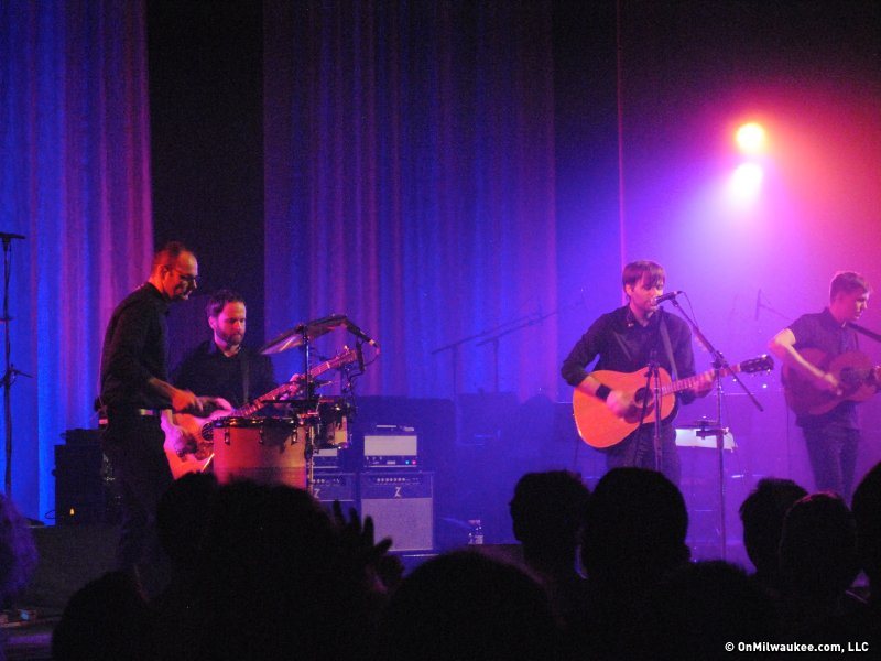 Death Cab For Cutie played a sold-out show at the Riverside tonight.
