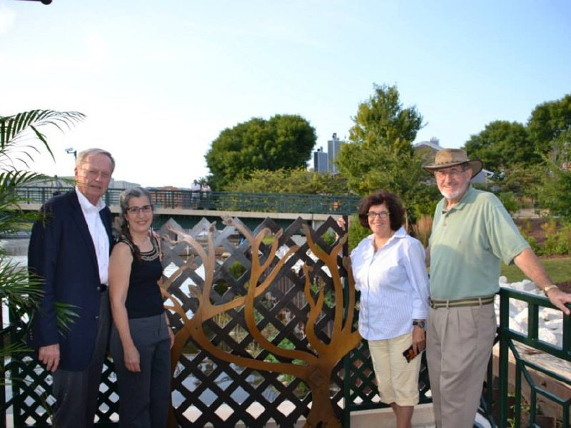 The Milwaukee RiverWalk District helped make the memorial happen.