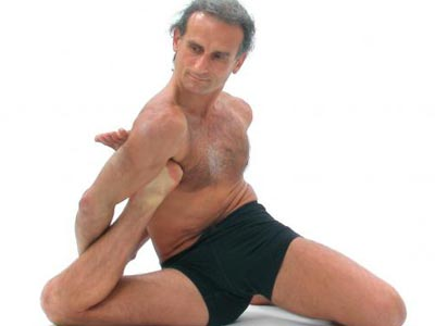 "This man is not welcome at ""Yoga for Degenerates."""