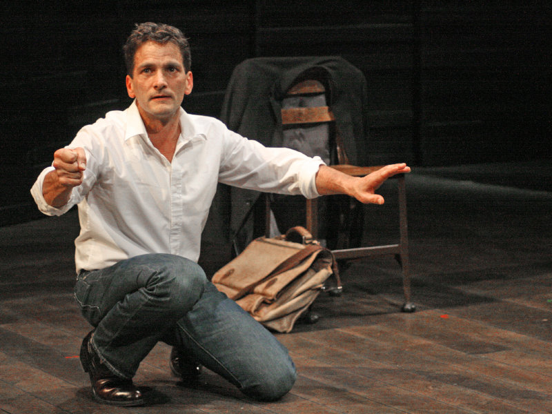 "American Players Theatre actor James DeVita brings his autobiographical one-man show ""In Acting Shakespeare"" to Marquette on Wednesday. The performance is free."