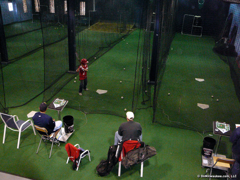 Dingers throws conventional batting cages a curve ball - OnMilwaukee