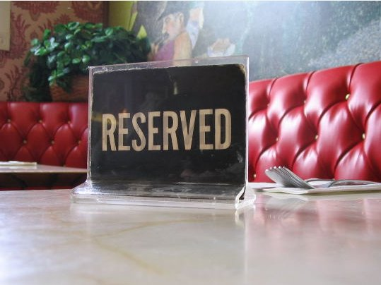 "If you have ""reservations"" about your dining experience, give the restaurant a chance to do something about it."