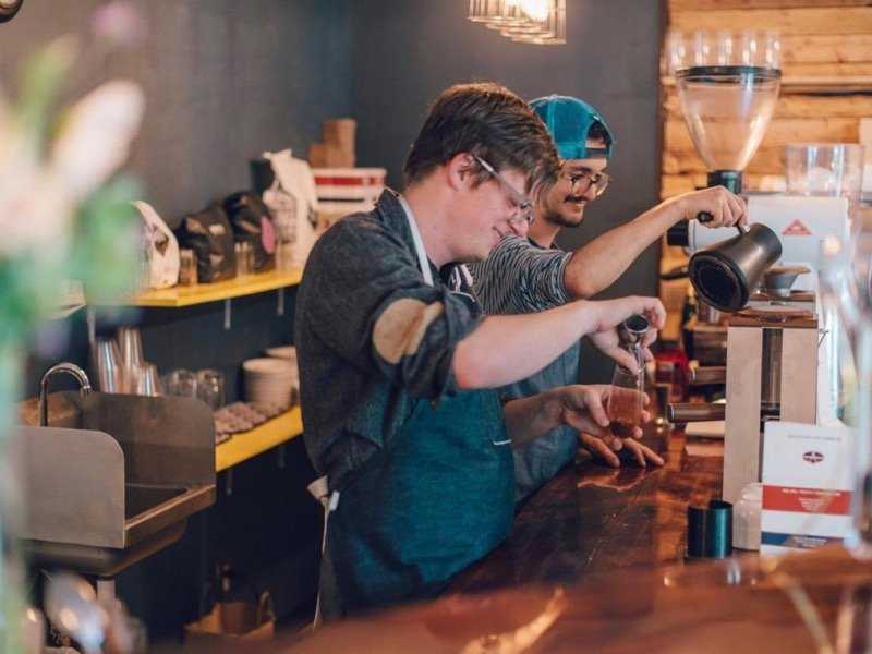 Milwaukeeans take coffee to new levels at Door Co. experimental coffee bar - OnMilwaukee  sc 1 st  OnMilwaukee & Milwaukeeans take coffee to new levels at Door Co. experimental ...