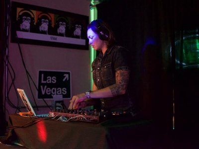 DJ Shawna spins with love Image