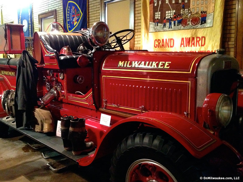 Vintage equipment comes with a dose of passion at the Milwaukee Fire Education Center and Museum.