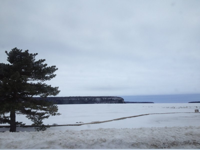 Door County's stark natural beauty is even more obvious in the winter.