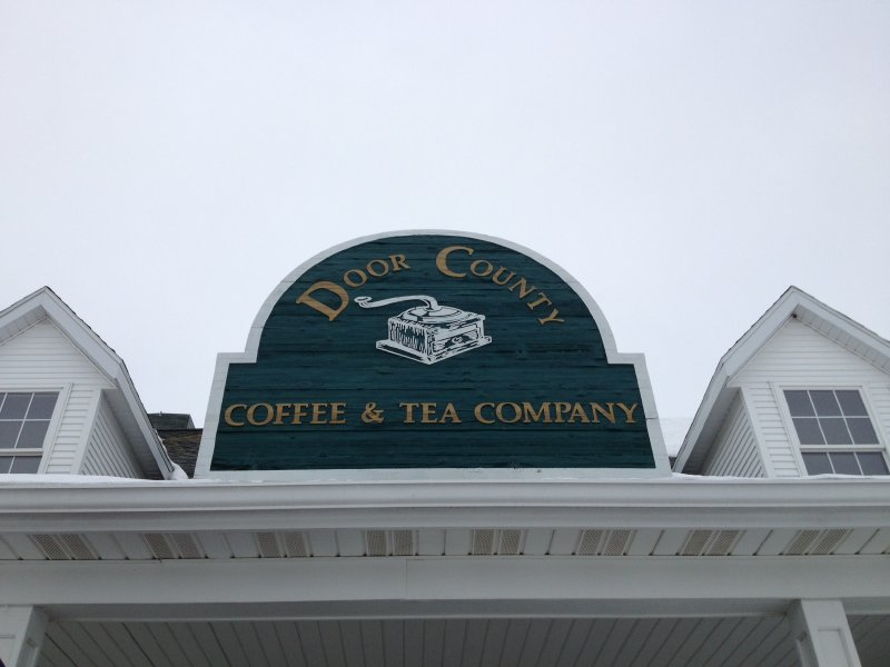 Door County Coffee and Tea Company fulfills all my caffeine needs.
