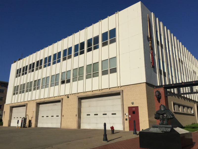 Milwaukee Firehouse Engine Co. 2 is located at 755 N. James Lovell St.