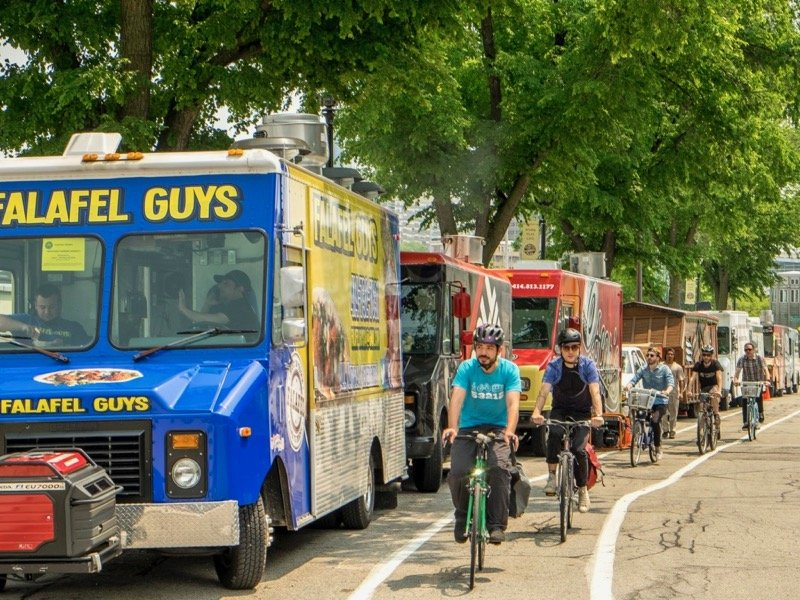 Schlitz Park Food Trucks