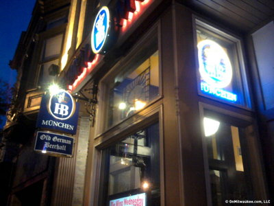 Milwaukee's best Downtown bar, 2012: Old German Beer Hall