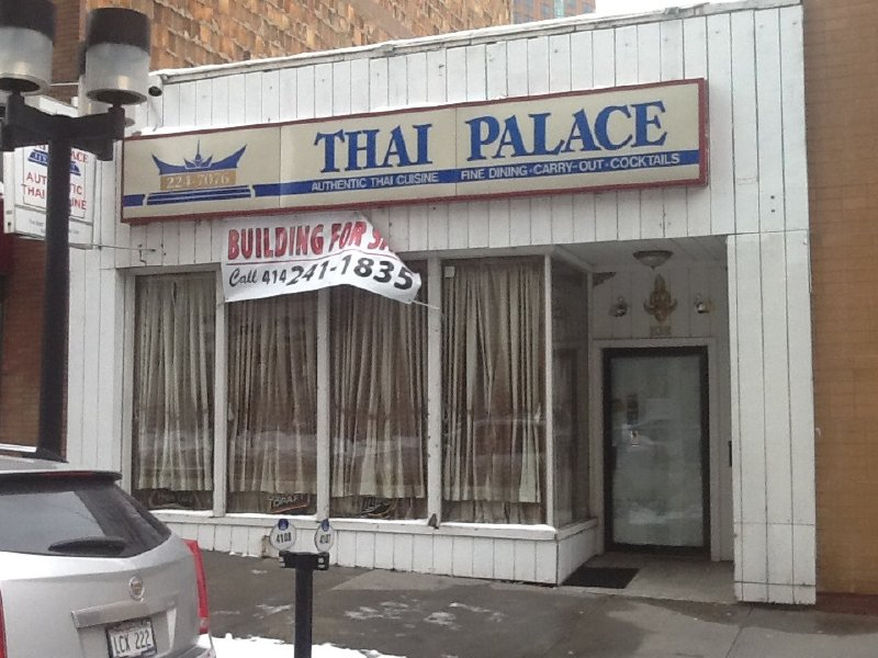 A favorite Downtown spot, the Thai Palace, has closed.