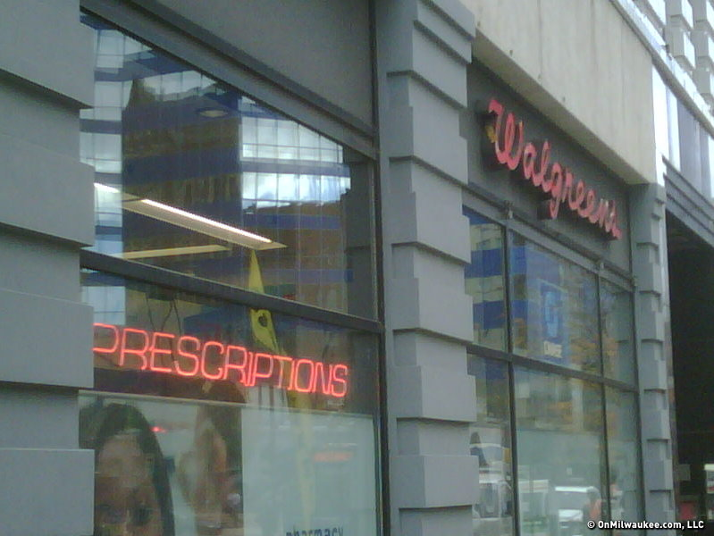 The Walgreen's at 275 W. Wisconsin Ave.