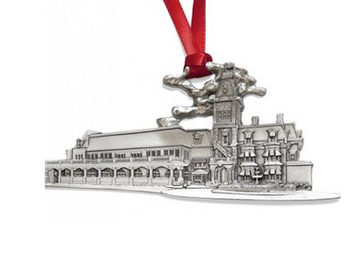 The Wisconsin Club, this year's Milwaukee Downtown ornament