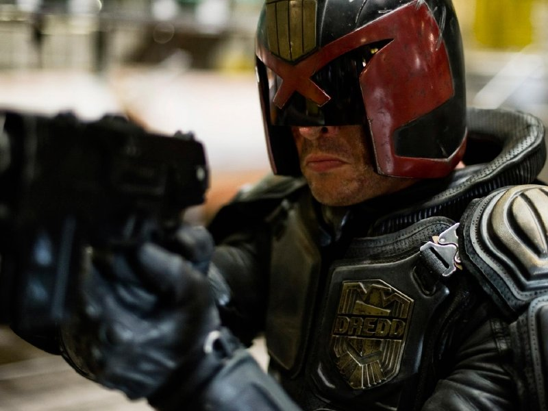 """Dredd,"" the remake of the 1995 film ""Judge Dredd,"" hits theaters today."