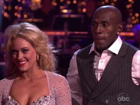"Driver is all grace on ""Dancing With The Stars."""