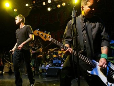 Dropkick Murphys practice recession-proof punk