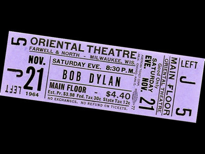 A legendary show that wasn't: Bob Dylan at the Oriental