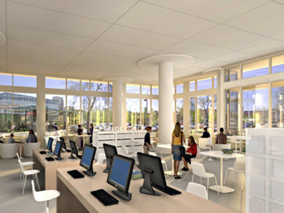 East Library designs Image