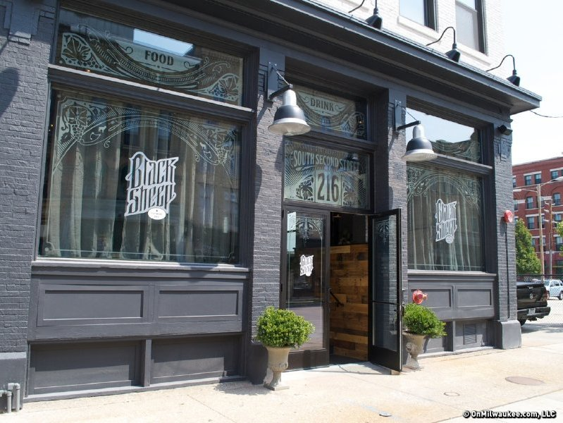 "Black Sheep in Walker's Point is one of eight restaurants to make Eater's ""Heatmap"" of Milwaukee restaurants."