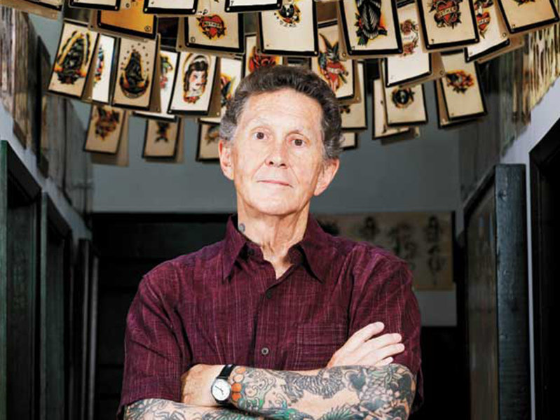 Tattoo artist Ed Hardy joins today's Kramp Cast.