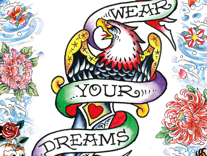 Ed Hardy Roses Drawings Tattoo Artist Joins