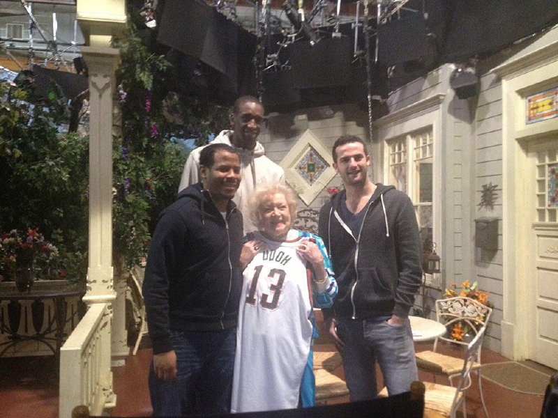 Milwaukee Bucks center Ekpe Udoh tracked down Betty White recently.