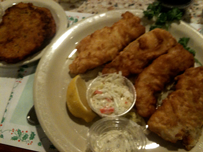 It is that rare place that offers a full fish fry on a night other than Friday.