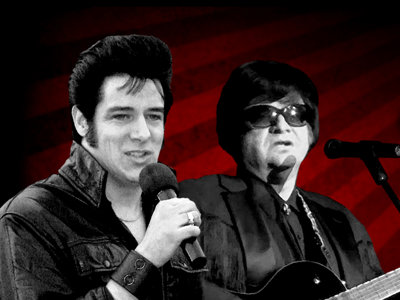 Elvis and Orbison unite