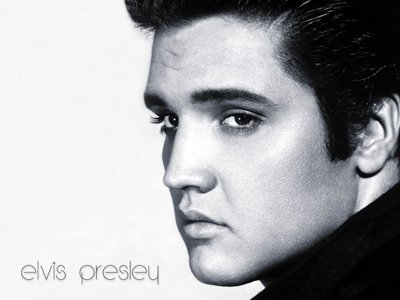 Elvis & black radio Image