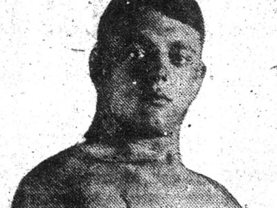 German-born wrestler Ernst Scharpegge found fame on Milwaukee mats