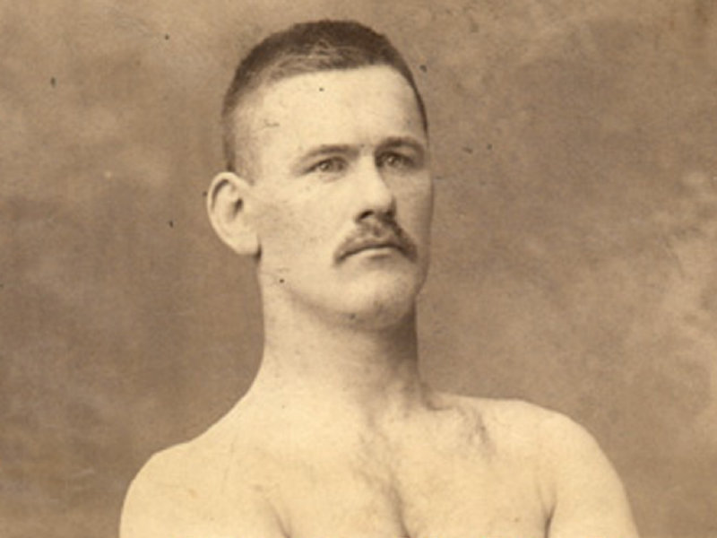 The original master of the Wisconsin chokehold