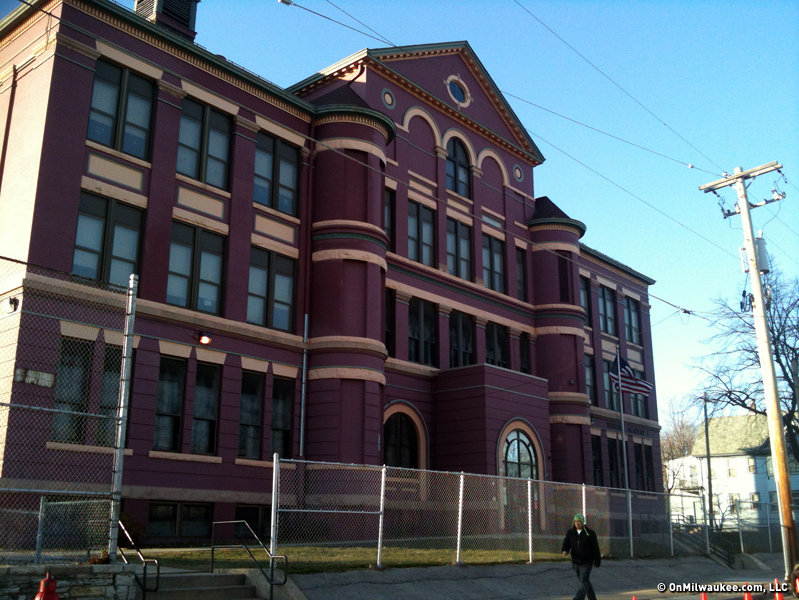 31st Street School as it looked last year.